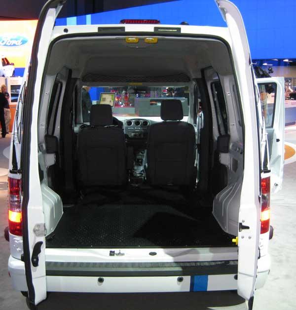 2012 Ford Transit Connect Refrigeration Mini Cargo Van: 2010 Los Angeles Auto Show – Part 1