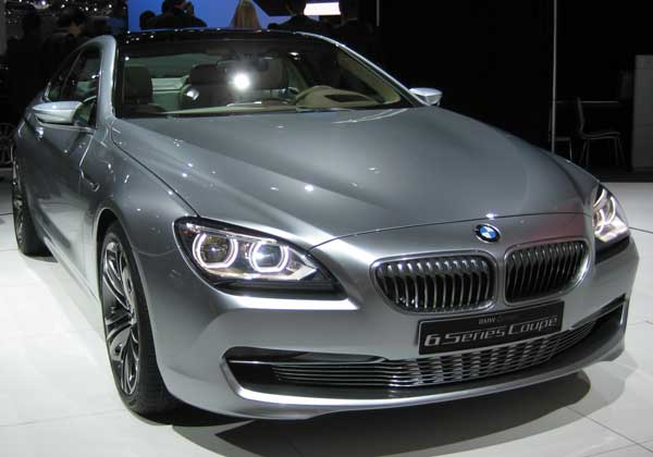 "The ""concept"" BMW 6-Series Coupe is almost identical to the production"