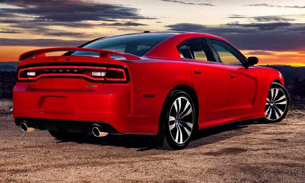 Dodge Charger SRT8 2011 Back