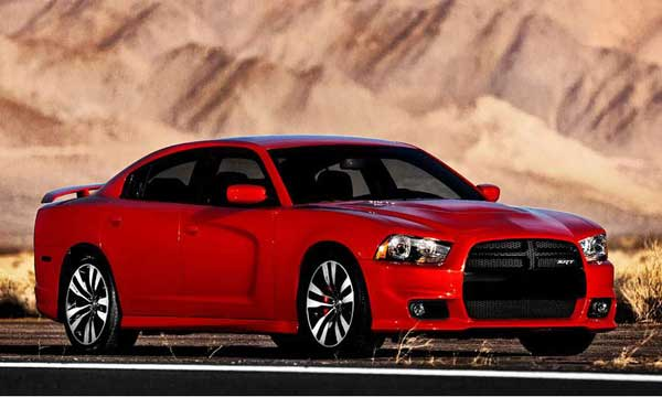 Dodge Charger SRT8 2011 Side Profile