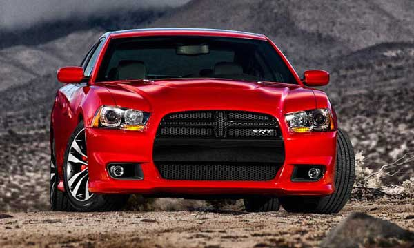 Dodge Charger SRT8 2011 Front Side