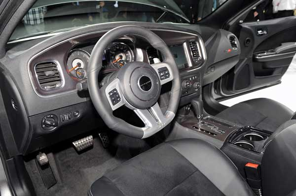 Dodge Charger SRT8 2011 Interior