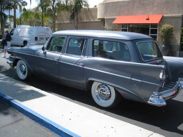 A Studebaker Wagon With Huge Fins Todd Bianco S