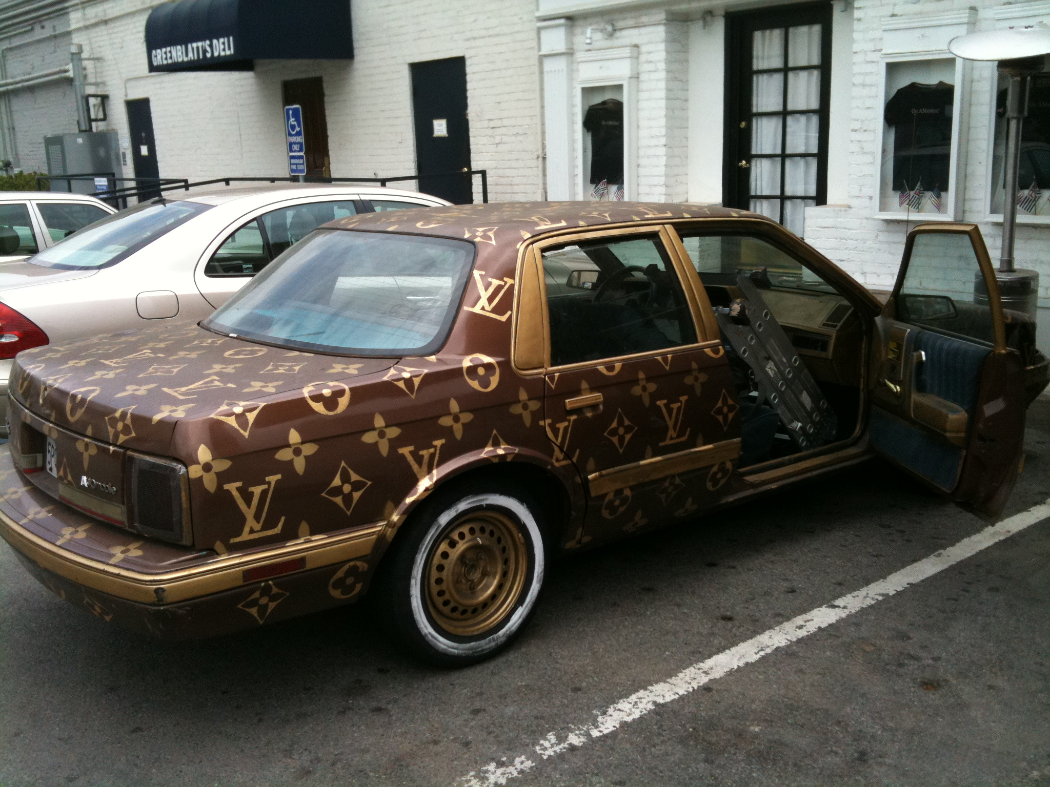 Louis Vuitton Oldsmobile How Hideous Can It Be Todd