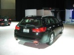 This lonely 2012 Acura TSX wagon was sitting all by itself to the back of the Acura display. It's too bad because it's my favorite Acura.