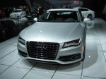 The front of the 2012 Audi A7. Beautiful lines and great LED eyeliner.