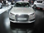 The 2012 Audi S6 has the same engine found in the S7 - a TSFI (direct fuel injection, twin scroll turbo) 4.0L V8 with 420 hp 406 lb-ft torque. It's mated to Audi's 7-speed S tronic dual clutch unit.