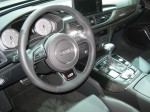 The 2012 Audi S6 carries on the typical high quality of Audi interiors.