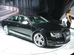 New for 2012 is the sports version of Audi's A8, the S8 with the Lamborghini V10 engine.