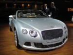 This is the new 2012 Bentley Continental GT Convertible. The changes are subtle, but you don't want radical changes on expensive cars like this.