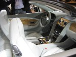 The upgraded interior of the 2012 Bentley Continental GTC is a nice place to spend time.