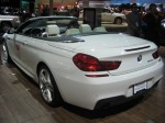 2012 BMW 640i Cabriolet - rear
