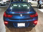 2012 BMW 650i Coupe - rear.