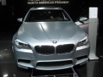 2012 BMW M5 front
