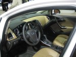 The 2012 Buick Verano has an upgraded interior, thick, bolstered seats and a two-tone color scheme. It photographs better than it looks in person.