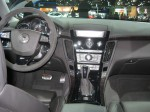 The interior of the 2012 Cadillac CTS-V wagon is nicely appointed. There is no difference in the front cabin from other CTS-V models (the sedan and coupe).