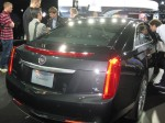 The 2012 Cadillac XTS carries on Cadillac's Art and Science styling language.