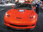 The 2012 Chevrolet Corvette ZR1 packs 638 hp from its 6.2L LS9 supercharged V8 engine. Base MSRP is $111,525