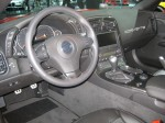 The interior of the 2012 Corvette ZR1 still leaves much to be desired. It's functional, but kind of drab for the price.