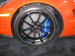 The Brembo carbon-ceramic brakes are awesome on this 2012 Chevy Corvette ZR1.