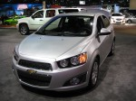 The 2012 Chevy Sonic 4-door sedan