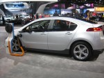 Chevy shows a charging station for the 2012 Volt.