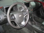 The Chevy Volt interior has few changes for the 2012 model year.