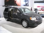 The 2012 Chrysler Town and Country.  The designers and engineers have really  upgraded the flagship minivan for 2012.