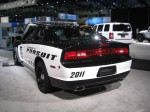 2012 Dodge Charger Police Pursuit - this is NOT something you want to see in your rearview mirror with its lights on.