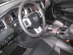 2012 Dodge Charger - note the new transmission shifter for the new 8-speed automatic.
