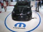 This 2012 Fiat 500 Titanium was customized by MOPAR (Chrysler's aftermarket parts and performance division).