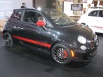 2012 Fiat 500 Abarth - side.