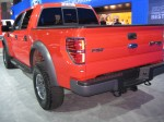 Here's a red 2012 Ford F-150 Raptor