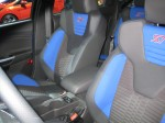 The Focus ST's seats look fantastic and very comfortable.