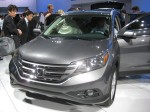 2012 Honda CR-V front.  It has the current Honda corporate grille, but I'm not a big fan.