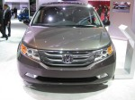 I'm still not a fan of Honda's corporate grille. I didn't like it on the Accord CrossTour and I'm not a fan of it here.  However, I don't hate it and I could live with it. The headlights are incorporated well into the design.