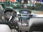 The 2012 Honda CR-V has much nicer interior plastics than its platform cousin, the Civic.