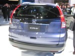 The tale of the 2012 Honda CR-V. It looks better in person, but it still looks a bit awkward to me.