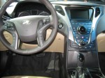 The interior styling of the 2012 Hyundai Azera is an subtle evolution of the interior found in the excellent Hyundai Sonata.