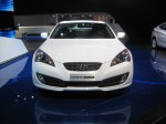 2012 Hyundai Genesis Coupe - front.  It's one of the few affordable rear drive coupes in the market. It will never be a Mustang when it comes to image, but it appeals to many performance buyers looking for something different.