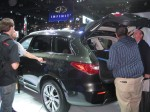 The crowds made it difficult for me to get a good shot of the 2013 Infiniti JX