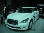 2012 Infiniti M35h is a low volume car to begin with, but I don't think it's caught on in the market yet. It's one of the few rear-drive hybrids available.  It starts at a lofty $53,700.