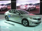 2012 Kia Optima Hybrid. It's a handsome alternative to a Toyota Camry Hybrid.