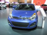 The base MSRP for the 2012 Kia Rio SX 5-door is $17,700, including a 1.6L gas direct inject engine and a 6-speed automatic transmission.