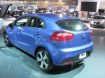 The 2012 Kia Rio is all new for 2012 and it's vastly better than the previous model. This is the top-line Rio SX 5-door.