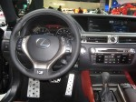 The interior of the 2012 Lexus GS350 is a dramatic improvement to the horrible bland inteiors of past Lexus. Good job!