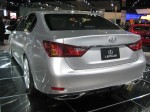 The rear of the 2012 Lexus GS looks suspiciously like the rear of the 2012 Hyundai Azera.