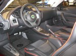 The interior of the 2012 Lotus Evora (not the S).