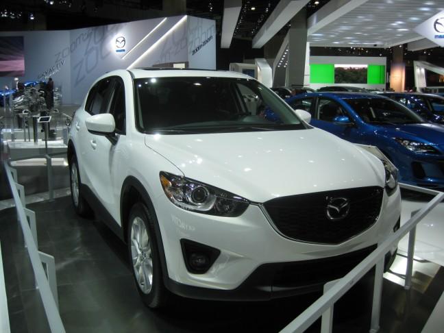 2012 Mazda CX-5 benefits from Mazda's 2.0L SkyActive engine technology.