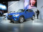 The 2012 Mazda CX-5 has a 2 liter 155 hp direct inject SkyActiv engine. It comes in either front or all-wheel drive configurations.